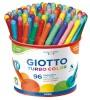 Tuschpennor Giotto Turbo Color 96 pennor