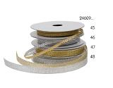 Metallicband Silver 9 mm x 10 meter