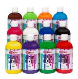 Ready Mixed ABA 12 färger x 500 ml