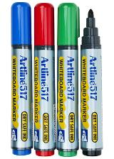 Whiteboardpenna Artline medium rund spets 2 mm
