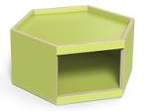 Lekbord Hexagon 30, lime