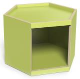 Lekbord Hexagon 45, lime