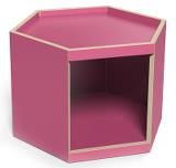 Lekbord Hexagon 45, rosa